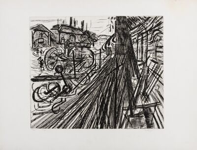 Anthony Gross, 'The Forge (Herdman 5701)', 1957