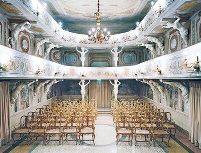 Candida Höfer, 'Teatro di Villa Mazzacurati di Bologna II 2006', 2006