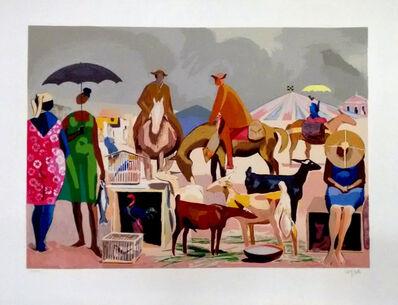 Hector Carybé, 'Feira (Fair)', ca. 1990