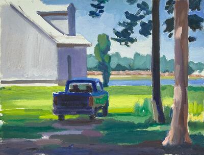 John Goodrich, 'Truck and House, Addison', 2019