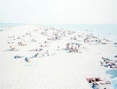 """Massimo Vitali, 'Vecchiano, dal portfolio """"Landscape with figures""""'"""