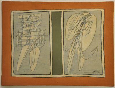 Achille Perilli, 'Ego Ausiliare', 1964