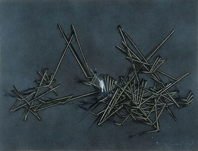 Emilio Scanavino, 'Il gioco del perché', 1982