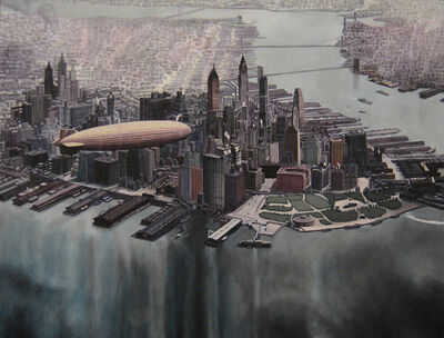 Michael Rosenfeld, 'Blue City II', 2014