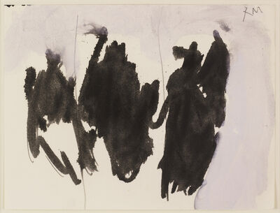 Robert Motherwell, 'Brush Elegy', 1958