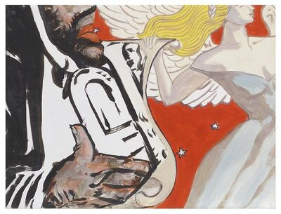 George Schneeman, 'Trumpet/Angel', 2001