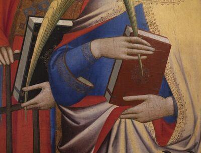 Reinhard Gorner, 'Detail From: The Saints Laurentius and Catherine, Giovanni Gaddi, 1380', 2008