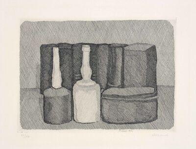 Giorgio Morandi, 'Natura morta con nove Oggetti (Still Life with nine Objects)', 1954