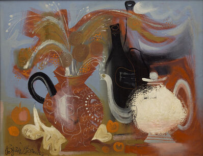 Byron Browne, 'The White Pitcher', 1958