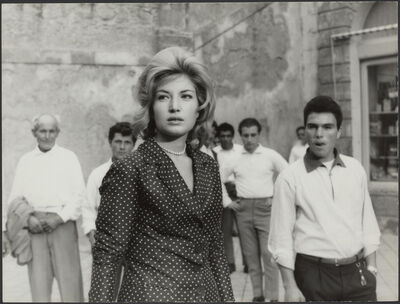 Michelangelo Antonioni, 'L'avventura (film still with Monica Vitti)', 1960