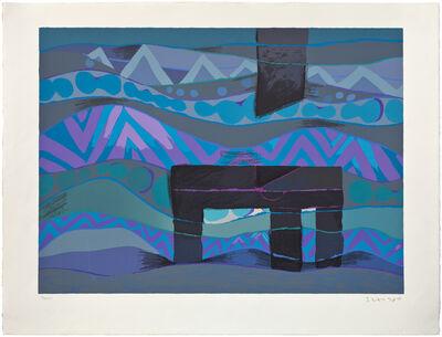 Fernando de Szyszlo, 'Mar de Lurin III', 1989