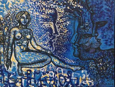 Zaida del Río, 'Noche Azul', 2006