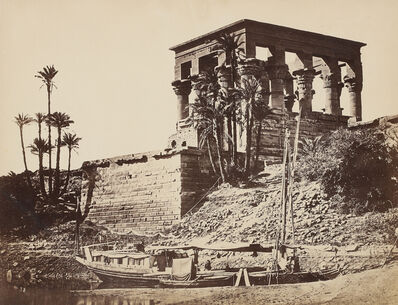 Francis Frith, 'Hypaethral Temple, Philae', 1857