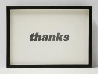 Allan McCollum, 'Visible Markers (Drawing) #355', 1998