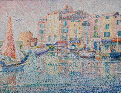 Yvonne Canu, 'Saint-Tropez au cochant', 1930-1970