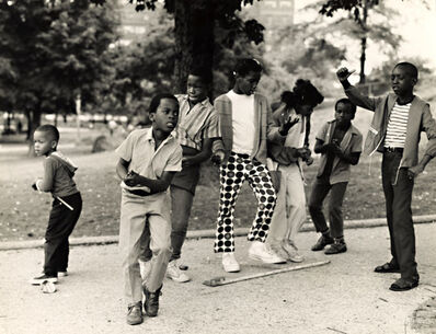 Arthur Tress, 'Black Children Dance to Rock 'n Roll in in Harlem's Mount Morris Park, New York City, NY', 1968/1968