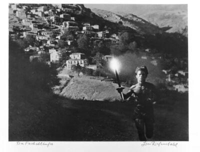 Leni Riefenstahl, 'Der Fackel laeufer', 1936