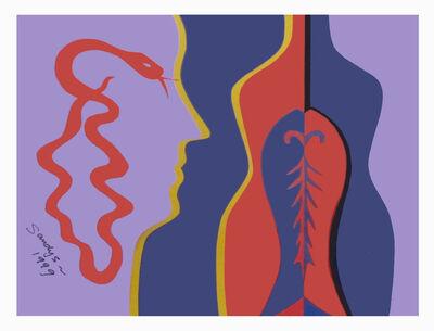 Edwina Sandys, 'Red Serpent', 1999