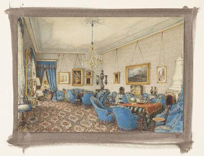 Franz Alt, 'A Salon in Vienna', 1872