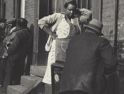 Manuel De Aumente, 'People on Street', ca. 1940-49