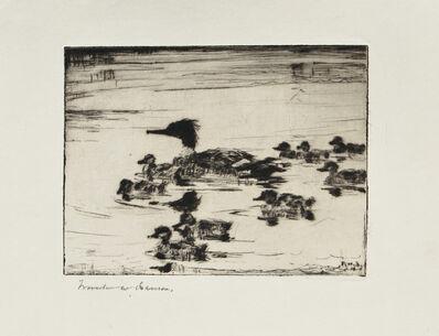 Frank Weston Benson, 'The Sheldrake's Brood', 1926