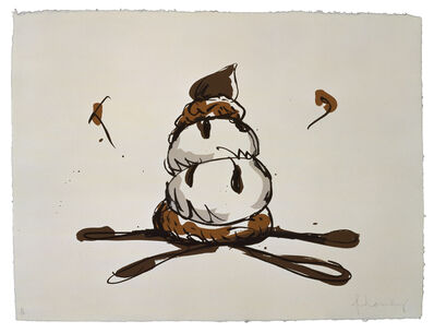 Claes Oldenburg, 'Profiterole', 1990