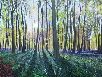Debbie Baxter, 'Morning Bluebells', 2019