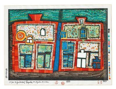 Friedensreich Hundertwasser, '2 bis 13 schwimmende Fenster', 1979