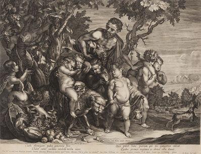 D. Brunn, 'Infant Bacchus on a Leopard [after Anthony Van Dyck, Flemish (1599-1641)]', ca. 1680