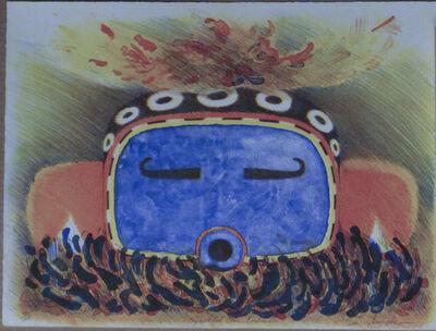Dan Namingha, 'Speckled Corn Kachina', ca. 1980