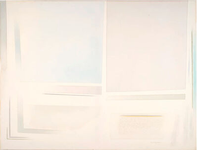 Riccardo Guarneri, 'Arioso con grande celeste', 2008