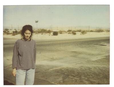 Stefanie Schneider, 'Stefanie on 29 Palms Highway - Spring Sale', 1997