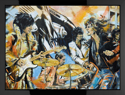 Ronnie Wood, 'Flatbed '75 - 30 Year Anniversary', 2005