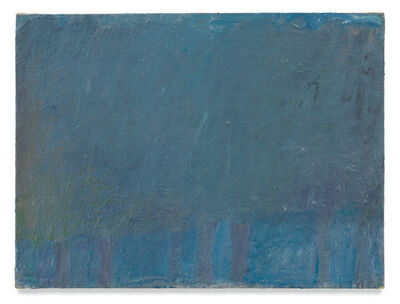 Wolf Kahn, 'Untitled (Trees)', ca. 1964