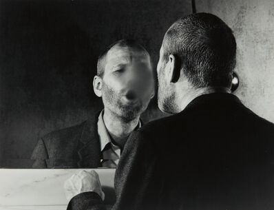 Dieter Appelt, 'Der Fleck auf dem Spiegel den der Atemhauch Schafft (The Mark on the Mirror Made by Breathing)', 1977