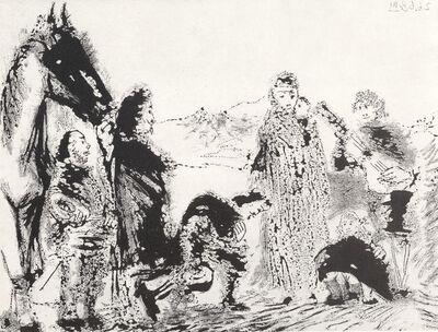 Pablo Picasso, 'Variation sue le theme de Don Quichotte et Dulcinee 2.6.68 III', 1968