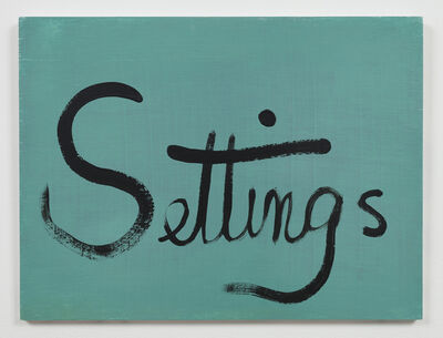 Ree Morton, 'Settings (Signs of Love)', 1976