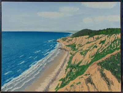Bill Sullivan, 'Beach Scene Cliffs', 1980-1990