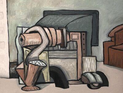 David Elliott, 'Red Chair'