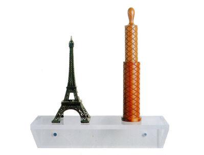 Haim Steinbach, 'Untitled (Eiffel tower, pepper mill)', 2001