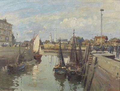 Edward Seago, 'Low Tide, Honfleur', ca. 1955