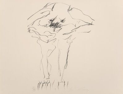 Willem de Kooning, 'Clam Digger, from Portfolio 9', 1967