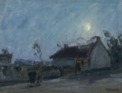 Henry Ossawa Tanner, 'Untitled (Moonlit Landscape with Cottage)', ca. 1912