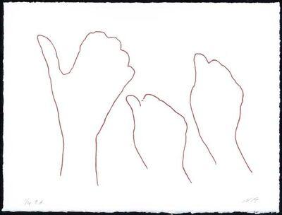 Susana Solano, 'Alrededor de una mano IV ', 2006