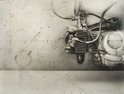César Galicia, 'Motor', 1991