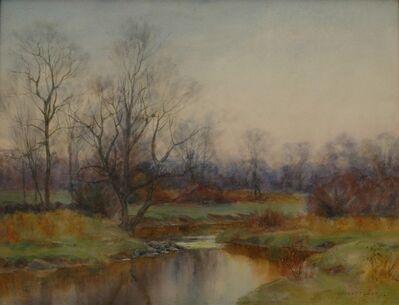 William Merritt Post, 'Autumn Stream', ca. 1895