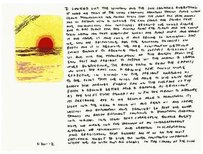 Edwin Schlossberg, '8.30.12', 2012