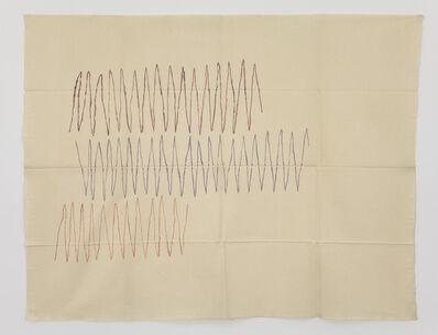 Giorgio Griffa, 'Linea spezzata', 1970