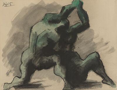 Jacques Lipchitz, 'Wrestlers', 1930-1945