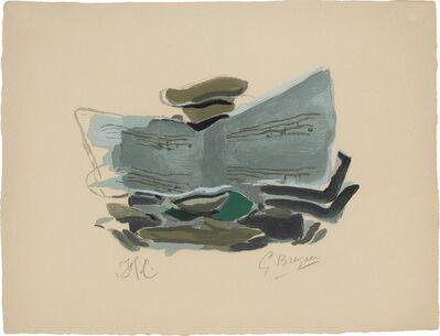 Georges Braque, 'NATURE MORTE À LA MUSIQUE (V. 181)', 1962